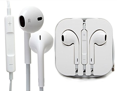 iPhone Earbuds 3.5mm with Mic and Remote LARGE