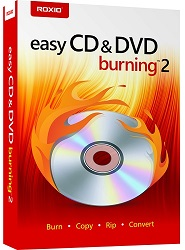 Roxio Easy CD & DVD Burning 2 (Download) LARGE