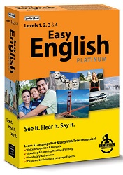 Easy English Platinum Language Learning Software for Windows (Download) LARGE