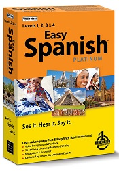 Easy Spanish Platinum Language Learning Software for Windows (Download) LARGE