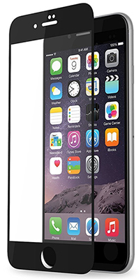 iPhone Edge to Edge Tempered Glass Screen Protector for iPhone 7/8, 7/8 Plus, 6, 6 Plus (SALE) LARGE