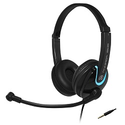 Andrea Communications EDU-255M On-Ear Stereo Headset