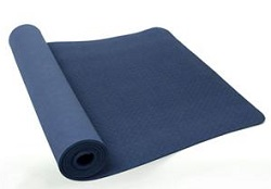 PurEarth Ekko 4mm Yoga Mat with BONUS (Blue)