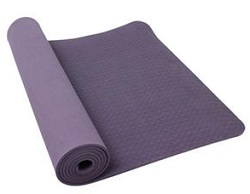PurEarth Ekko 4mm Yoga Mat with BONUS (Purple)