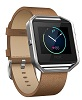 Fitbit Flex Blaze Leather Band + Frame Camel Leather (Large)