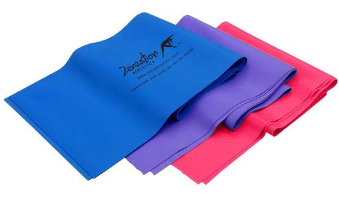 Zenzation Athletics 3-Pc Flex Bands Set with BONUS