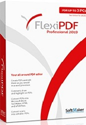 FlexiPDF Professional 2019 for Windows School License (Download) LARGE