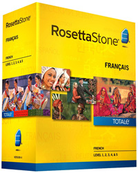 Rosetta Stone French Level 1-5 Set DOWNLOAD - WIN