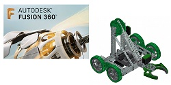 Autodesk Fusion 360 3-Year Sub with VEX KoP & FREE Online Workshop for Students