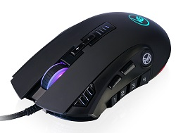 IOGEAR GME680 MMOMENTUM Pro 12-Button Programmable MMO Gaming Mouse LARGE