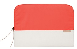 "STM Grace Laptop Sleeve for 11""-12"" Notebooks with FREE Portable Charger (Coral Dove)"