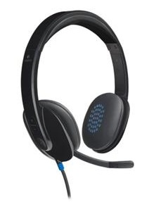 Logitech H540 Stereo USB Headset with Noise-Cancelling Mic LARGE