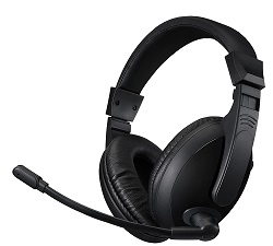 Adesso Xtream H5U Stereo USB Multimedia Headset with Microphone LARGE