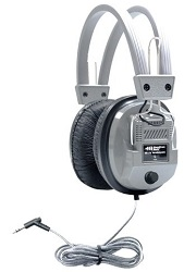 HamiltonBuhl SC-7V SchoolMate Deluxe Stereo Headphone with 3.5 mm Plug & Volume Control LARGE