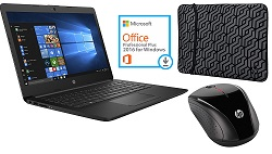 "HP 14"" AMD E2 4GB RAM Deluxe Laptop Bundle with Microsoft Office Pro 2016"
