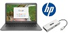 "HP 14 G5 14"" Intel Celeron 4GB RAM 16GB Memory ChromeBook PC Premium Edition (On Sale!)"