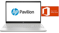"HP Pavilion 15-CS 15.6"" FHD Touch Intel Core i7 12GB RAM Notebook with MS Office Pro 2019 (Refurb) LARGE"