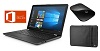 "HP 15-DA 15.6"" Touchscreen Intel Core i3 8GB Laptop Bundle w/Microsoft Office Pro 2019 THUMBNAIL"