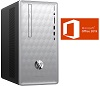 HP Pavilion 590-P0016 Intel Core i3 8GB RAM Desktop PC w/MS Office Pro 2019 (Refurbished) THUMBNAIL
