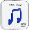 Happy Plugs Fashion Earbuds with Mic & Remote (17 Fashion Colors) SWATCH