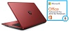 "HP 17-Y001CY 17.3"" AMD A12 12GB RAM Laptop w/MS Office Pro 2016 (Red) (Refurbished)"