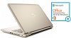 "HP Pavilion 17-G211CY 17.3"" HD+ Touchscreen AMD A8 12GB RAM Laptop w/MS Office 2016 (Gold) (Refurb)"