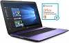 "HP 15-BA011CY 15.6"" AMD A12 12GB RAM Laptop w/MS Office 2016 (Purple) (Refurbished)"