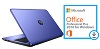 "HP 17-Y005CY 17.3"" AMD A12 12GB RAM Laptop w/MS Office Pro 2016 (Noble Blue) (Refurbished)"