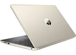 "HP 15-DB 15.6"" AMD A9 4GB Laptop PC w/MS Office 365 (Pale Gold/Ash) (Refurbished) LARGE"