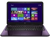 "HP 15-AY019CY 15.6"" Touchscreen Intel Pentium 4GB RAM Notebook PC w/Office 365 (Purple) (Refurb)"