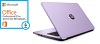 "HP 15-AY105CY 15.6"" Intel Core i3 8GB RAM Notebook PC w/ Office Pro 2016 (Soft Lilac) (Refurbished)"