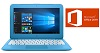 "HP Stream 14"" Intel Celeron 4GB Laptop with Microsoft Office 2019 (Blue) (Refurbished)_THUMBNAIL"