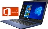 "HP Stream 14"" Touchscreen AMD A4 4GB RAM 64GB eMMC Laptop with Microsoft Office Pro 2019 (3 Colors) THUMBNAIL"