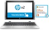 "HP X2 10.1"" IPS Touchscreen Intel Atom X5 2GB 32GB Flash Memory 4-in-1 Laptop w/MS Office Pro 2016"