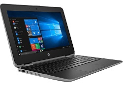 "HP ProBook x360 11 G5 EE 11.6"" Touchscreen Intel Celeron 4GB RAM 2-in-1 Laptop with MS Office 2019 LARGE"