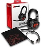 MSI IMMERSE GH30 Foldable Gaming Headset with Free Carrying Case THUMBNAIL