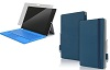 Incipio Roosevelt Slim Folio Case & PLEX Shield Bundle for Microsoft Surface Pro 3 (Dark Blue)