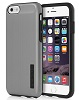 Incipio DualPro Shine Case for iPhone 6 with FREE Screen Protector (Gunmetal/Black)
