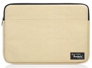 "Incipio Rickhouse Burlap Sleeve for MacBook Air 13"" with FREE Lightning Cable"