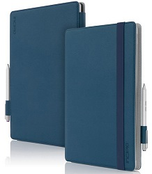 Incipio Roosevelt Slim Folio Case for Microsoft Surface Pro 3 (Dark Blue)