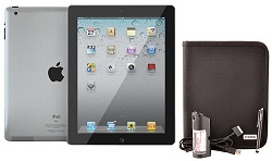 Apple iPad 2 16GB Black with FREE Makeover Bundle for iPad 2 (Refurbished Grade A)