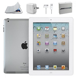 Apple iPad 2 16GB Value Bundle (White) (Refurbished)