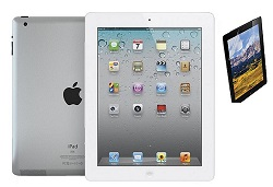 Apple iPad 2 16GB with Screen Protector (White) (Refurbished)