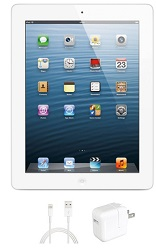 Apple iPad 4 with Retina Display 16GB (White) (Refurbished) LARGE