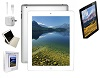 Apple iPad 4 with Retina Display 16GB Value Bundle Premium (White) (Refurbished)