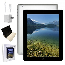Apple iPad 4 with Retina Display 16GB Value Bundle (Black) (Refurbished)