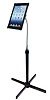 CTA Digital Height-Adjustable Gooseneck Floor Stand for iPad