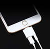 iPhone Splitter - Lightning Port and 3.5mm Headphone Port Mini-Thumbnail