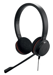 Jabra EVOLVE 20 UC Stereo Noise Cancelling USB Headset LARGE