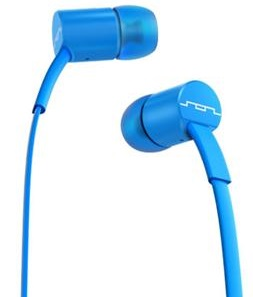 SOL REPUBLIC In-Ear 1-Button Headphones (Electro Blue)